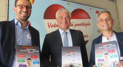 Inauguration Carrefour de l'orientation, des métiers et de l'emploi