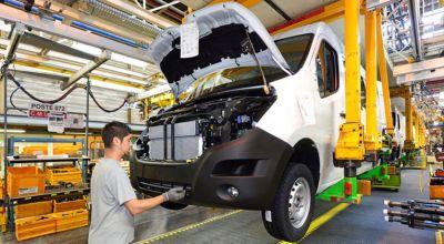 Production du Renault Master