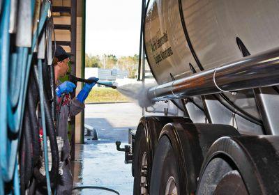 nettoyage de camion citerne