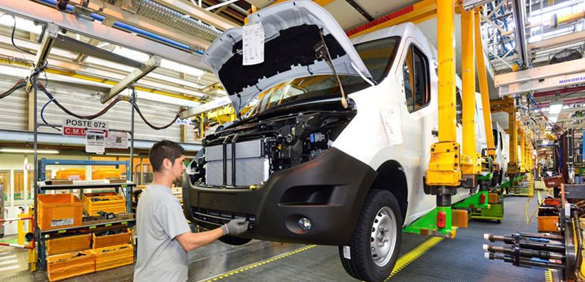 Production du Renault Master
