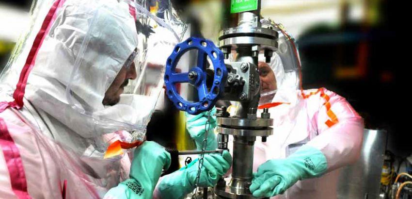 mécanicien robinetier industrie nucléaire