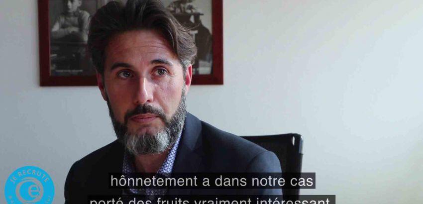 José Menendez, directeur des Foyers Clubs d'Alsace