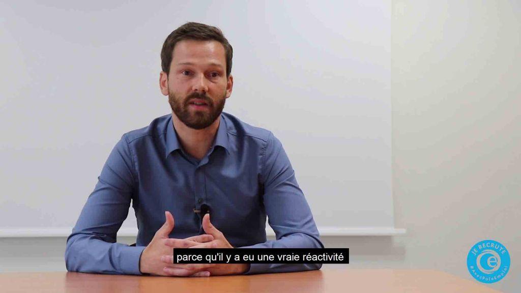 Anthony Michel CPAM Bas-Rhin