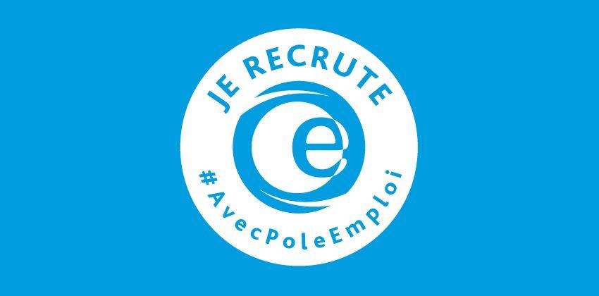 Logo Je recrute avec Pôle emploi